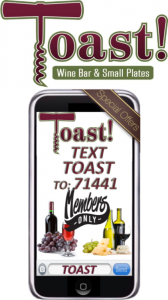 Toast logo and phone